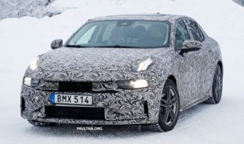 First Official Spyshots of Geely's Lynk & Co 03 Sedan 3