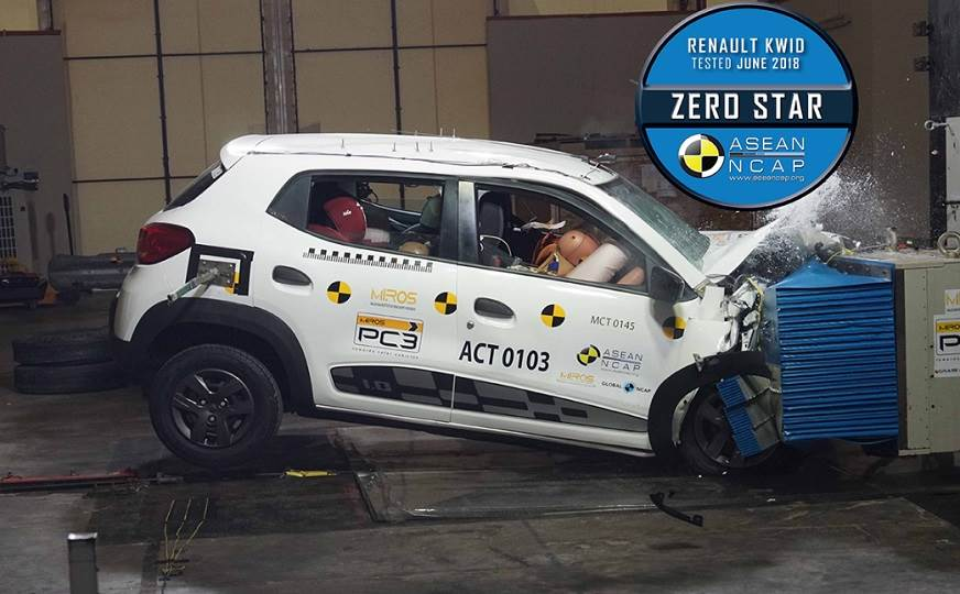 Renault Kwid Got Zero Stars in ASEAN NCAP Crash Test 1