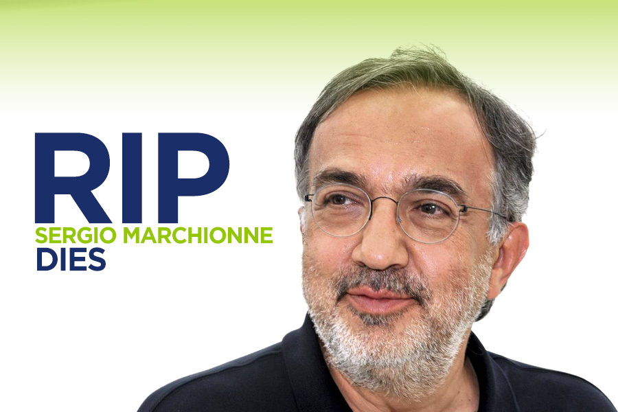 Sergio Marchionne, the CEO Who Saved Fiat and Chrysler Dies 4
