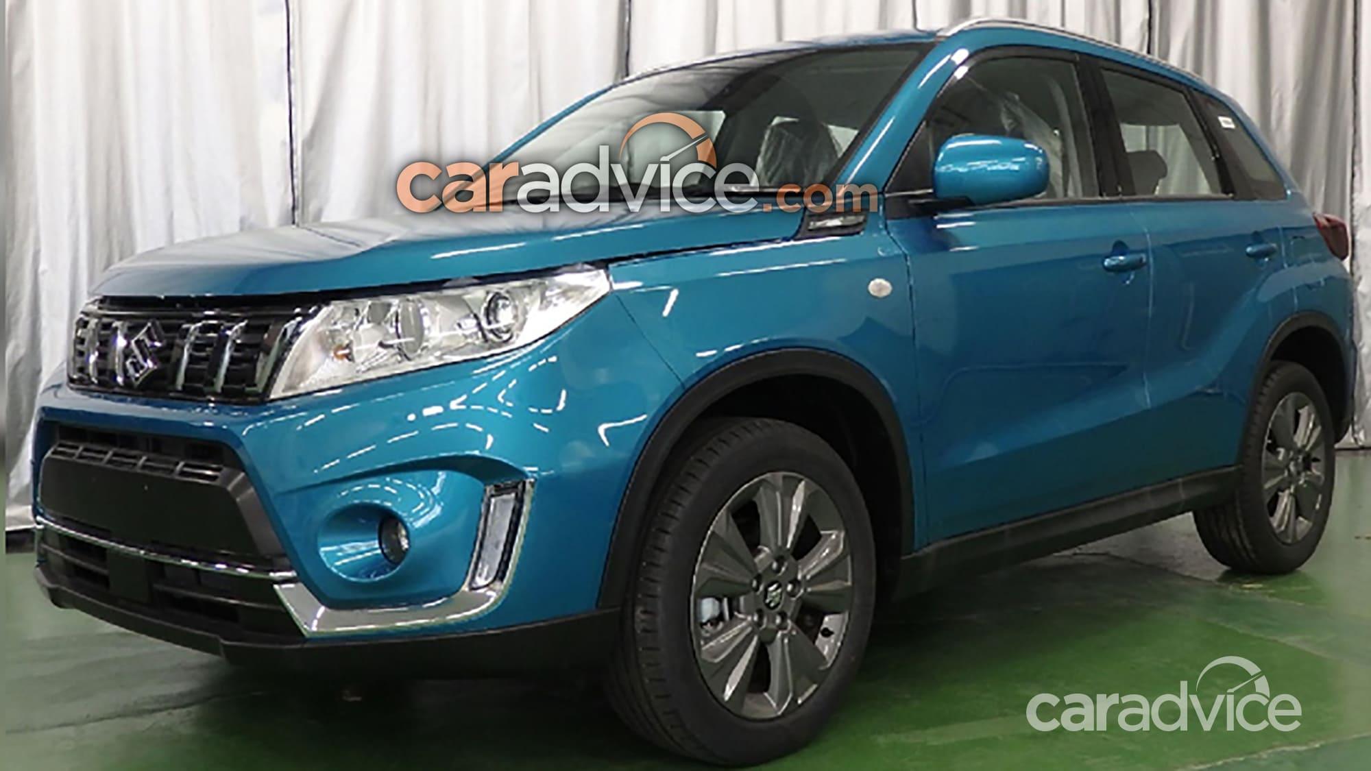 Suzuki Vitara Facelift Leaked 6