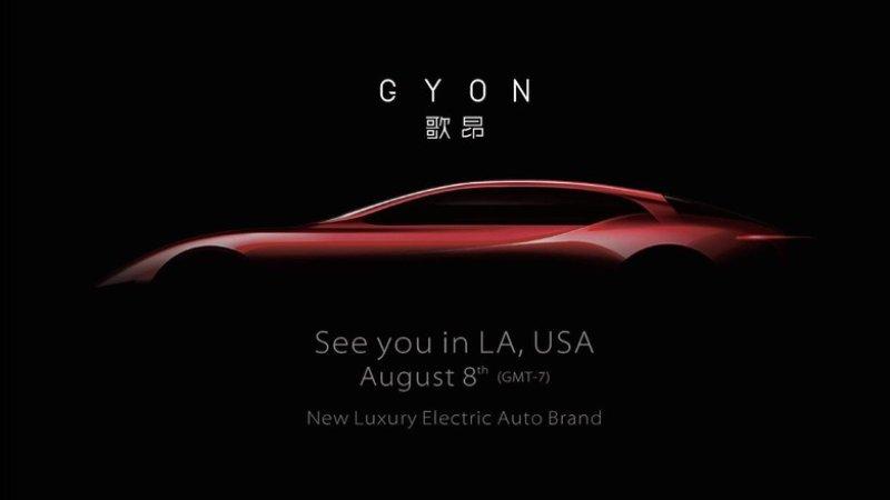 Chinese Luxury EV Startup Gyon Launching Next Month in USA 2