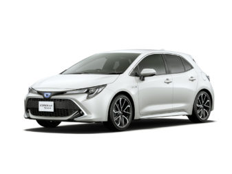 All New Toyota Corolla Sport Launched in Japan 8