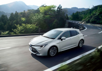 All New Toyota Corolla Sport Launched in Japan 22