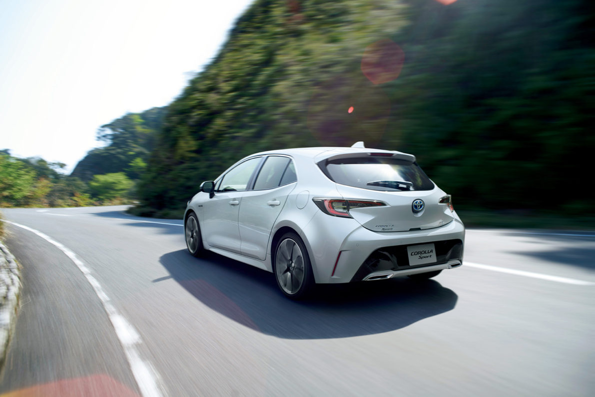 All New Toyota Corolla Sport Launched in Japan 23