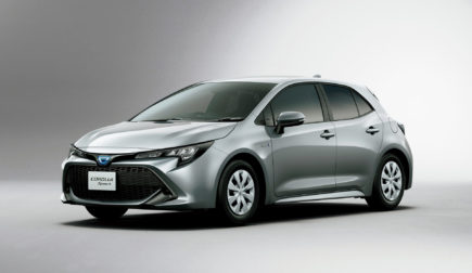 All New Toyota Corolla Sport Launched in Japan 7