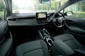 All New Toyota Corolla Sport Launched in Japan 21