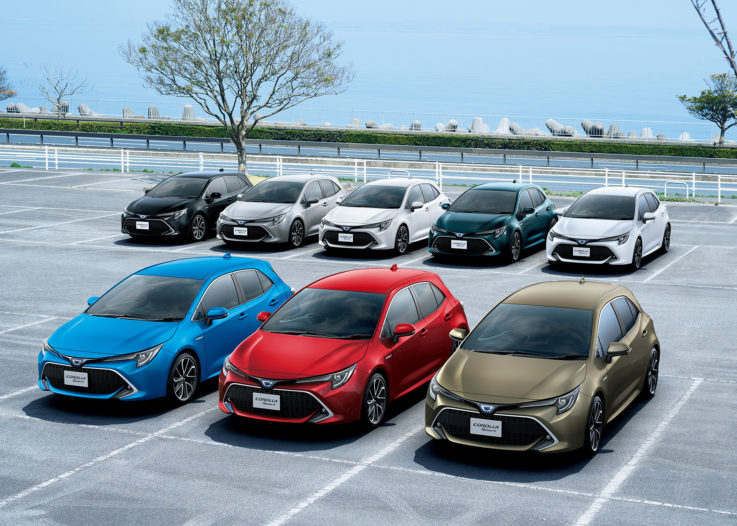 All New Toyota Corolla Sport Launched in Japan 11