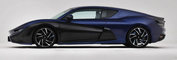 Qiantu K50 Electric Supercar from China to Launch in August 14