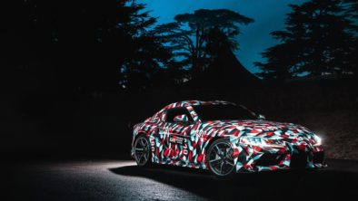 Rear End of All New Toyota Supra Leaked Online 3