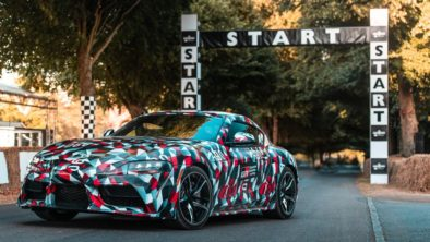 Toyota Supra A90 Leaked Well Ahead of Debut 2