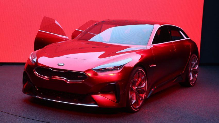 Kia ProCeed Teased Ahead of Paris Motor Show 2