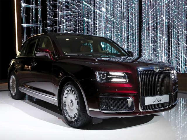 Aurus Senat: Vladimir Putin's New Presidential Limousine 5