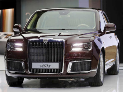 Aurus Senat: Vladimir Putin's New Presidential Limousine 8