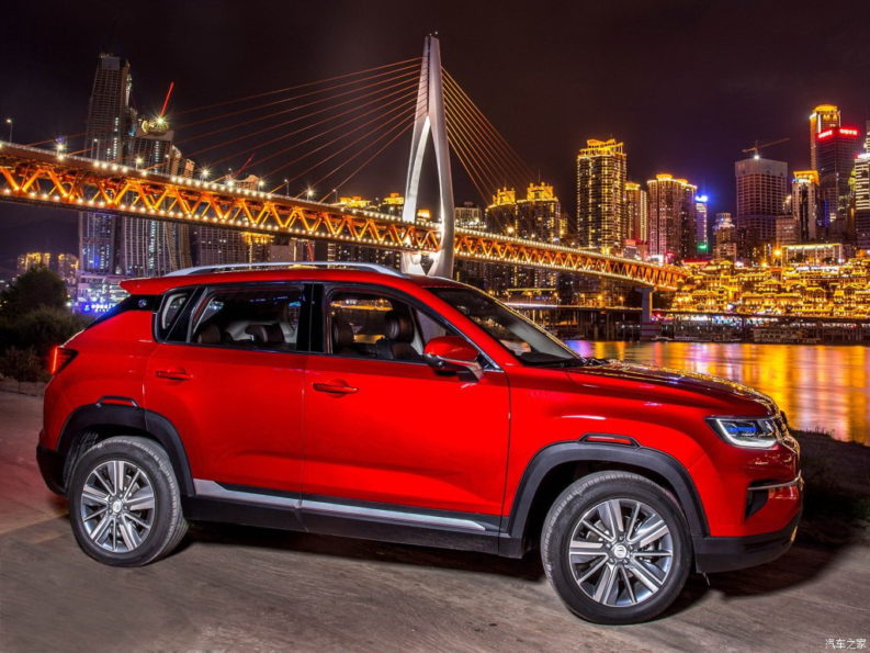 Changan Releases Official Photos of CS35 Plus Crossover Ahead of Debut 26