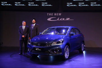 2018 Suzuki Ciaz Facelift Launched in India at INR 8.19 lac 8