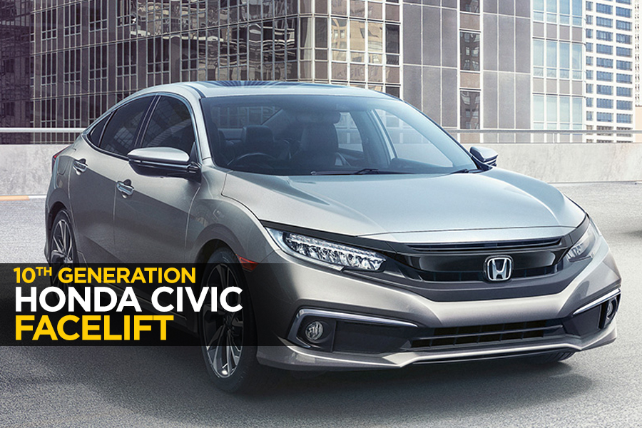 10th Gen Honda Civic Receives a Facelift 8