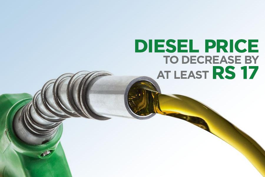 Diesel Price To Decrease By At Least Rs 17 2