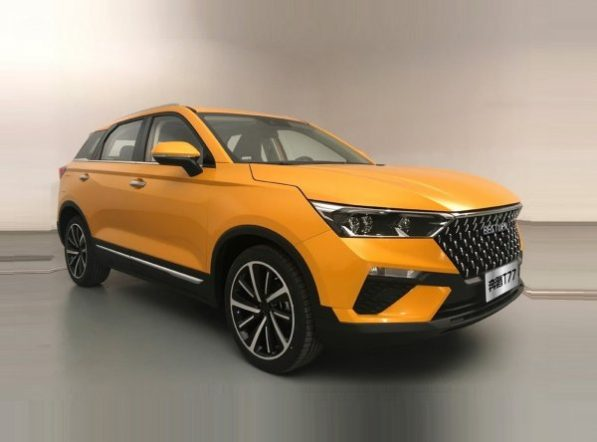 FAW Releases Official Photos of the T77 SUV 12