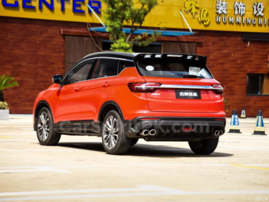Geely SX11 BinYue Revealed to Media Ahead of Launch 18