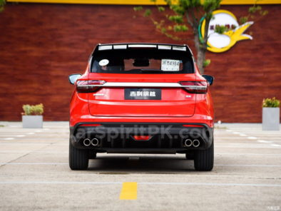 Geely SX11 BinYue Revealed to Media Ahead of Launch 20