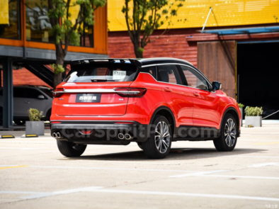 Geely SX11 BinYue Revealed to Media Ahead of Launch 21