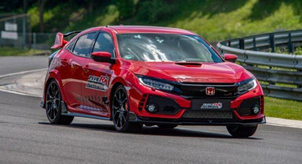 Honda Civic Type R Sets Hungaroring FWD Record 4