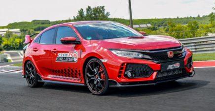 Honda Civic Type R Sets Hungaroring FWD Record 3