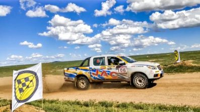 JAC Won Tri-Nation Cross-Country Rally With T6 Pickup 3