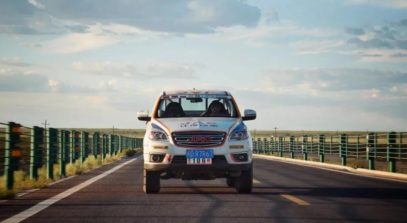 JAC Won Tri-Nation Cross-Country Rally With T6 Pickup 4