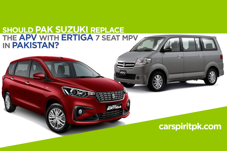 Pak Suzuki Should Replace the APV with New Ertiga 2