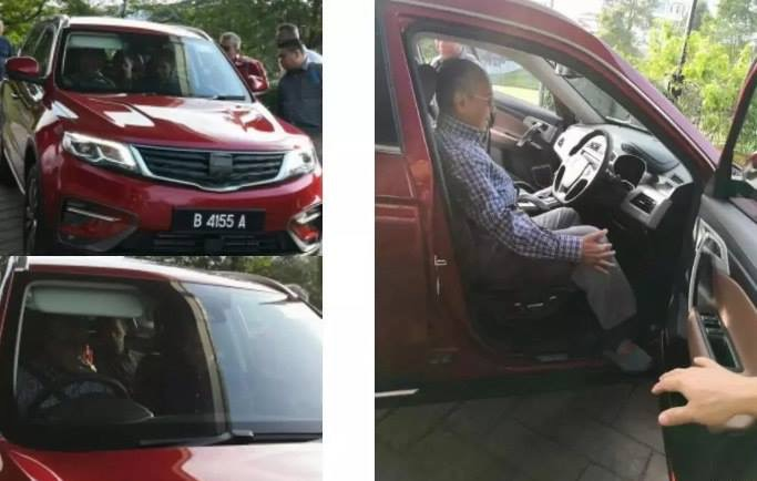 More Information on Geely-based Proton SUV 10