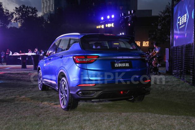 Geely SX11 BinYue Revealed to Media Ahead of Launch 9