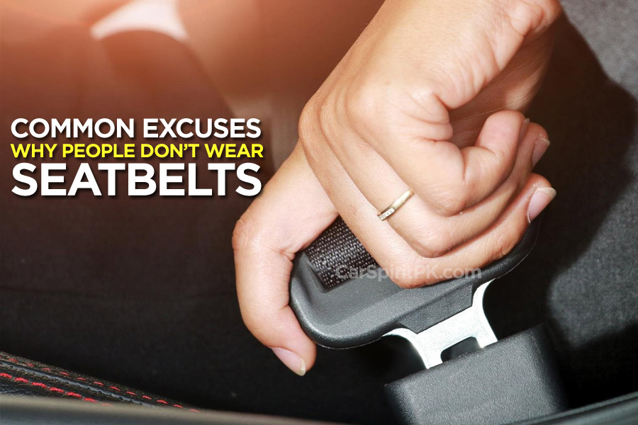 Common Excuses: Why People Don't Wear Seatbelts 1