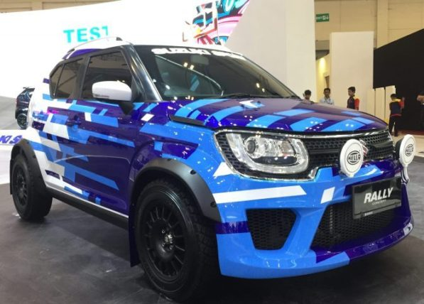Suzuki Ignis Rally Concept and Sport Concept at GIIAS 2018 2