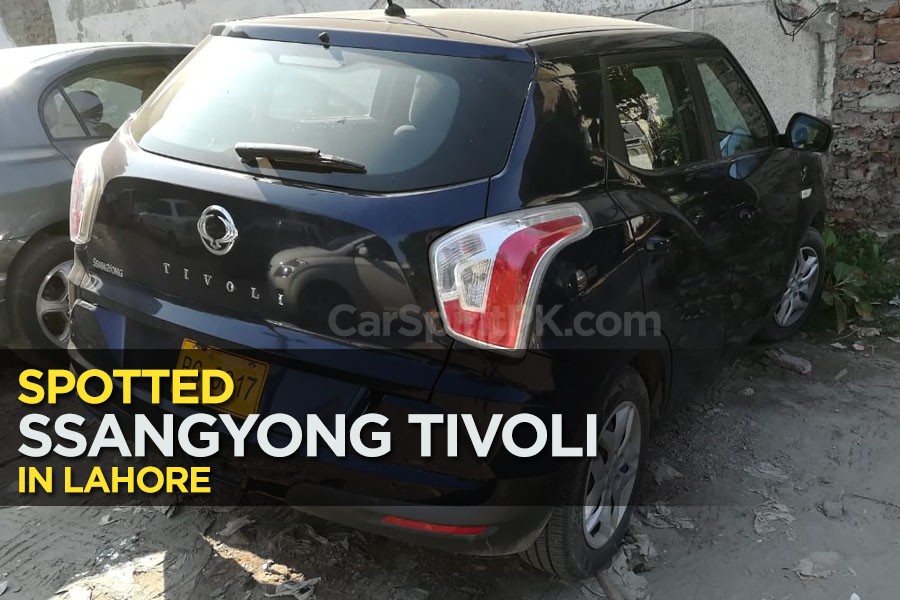 SsangYong Tivoli Spotted in Lahore 6