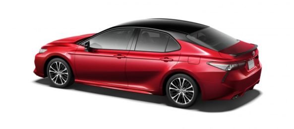 Toyota Launches the Camry Sports in Japan 9
