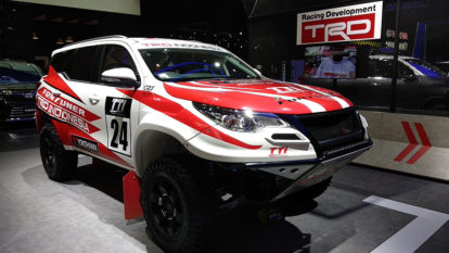 310hp/ 750Nm Rally-Spec Toyota Fortuner Showcased at GIIAS 2018 4