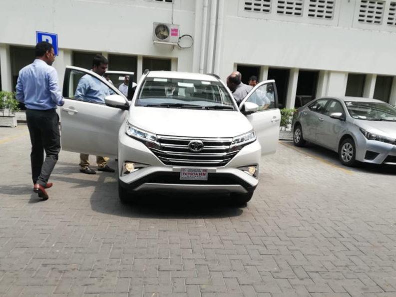 Toyota Rush Reaches Pakistan 2