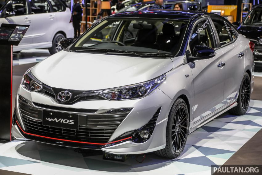 Toyota Vios TRD at GIIAS 2018 2
