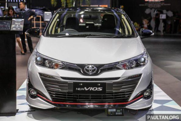 Toyota Vios TRD at GIIAS 2018 1