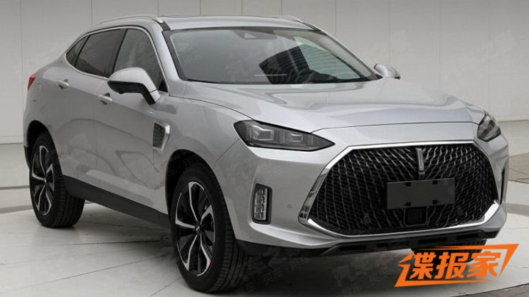 WEY P8 GT- Another Coupe SUV from China 1