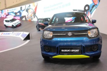 Suzuki Ignis Rally Concept and Sport Concept at GIIAS 2018 6