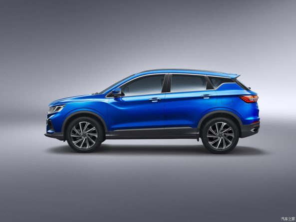 Geely SX11 Crossover Named as BinYue in China 3