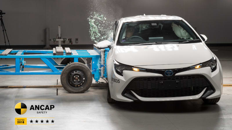 2019 Toyota Corolla Gets 5 Star ANCAP Crash Test Rating 6