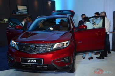Proton Officially Unveils the Geely Boyue-Based X70 SUV 7