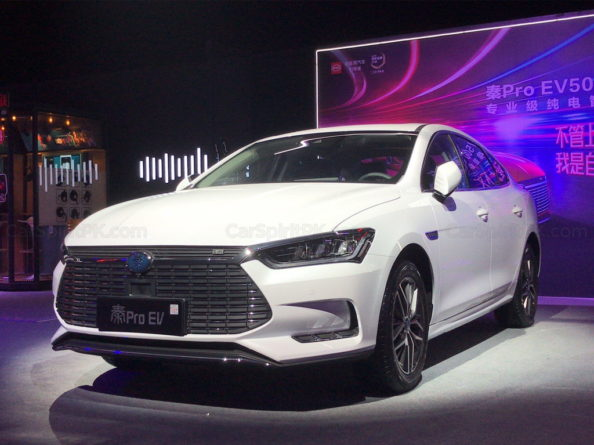 2018 BYD Qin Pro Launched 1