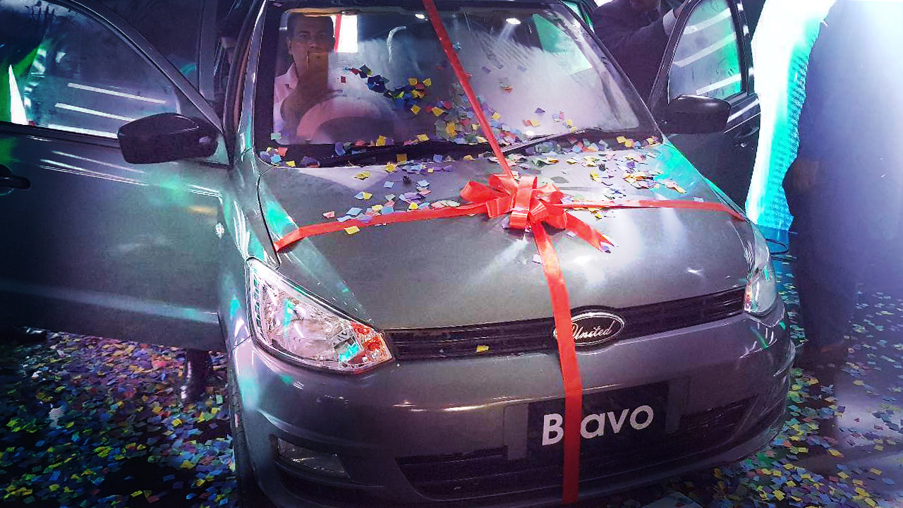 United Bravo Launched in Pakistan Priced at PKR 8.5 lac 2