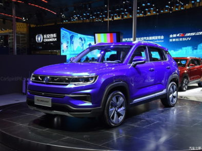 Changan CS35 Plus at 2018 Chengdu Auto Show 8