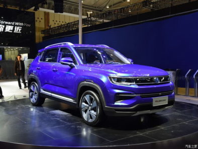 Changan CS35 Plus at 2018 Chengdu Auto Show 10