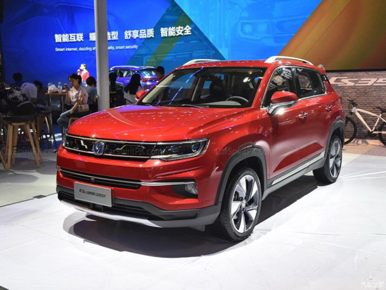 Changan CS35 Plus at 2018 Chengdu Auto Show 4